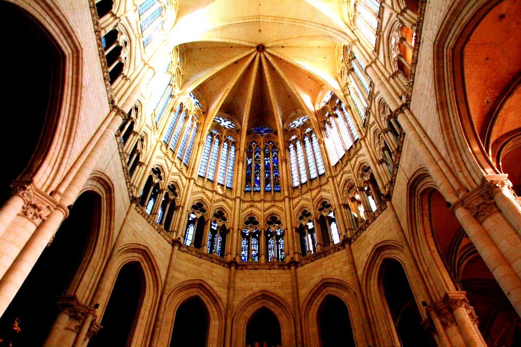 купол амьенского собора