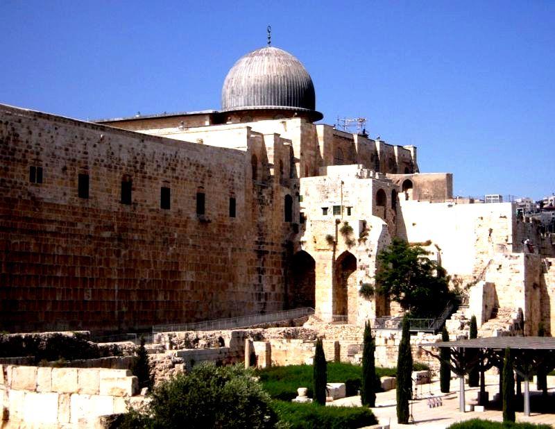 строение мечети аль-акса