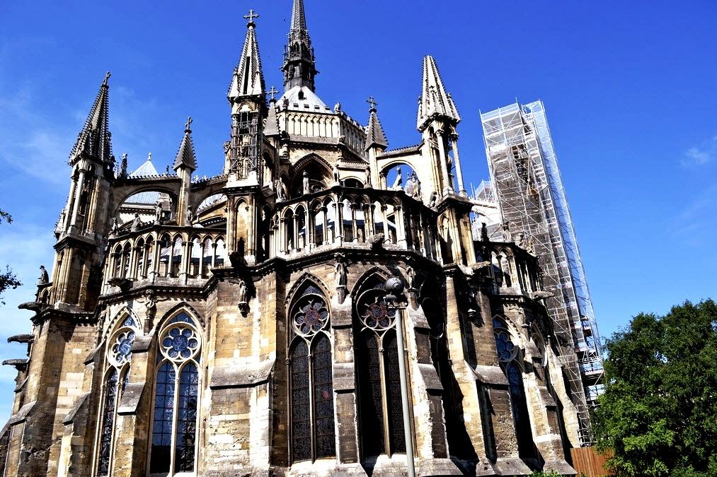 фасад реймсского собора