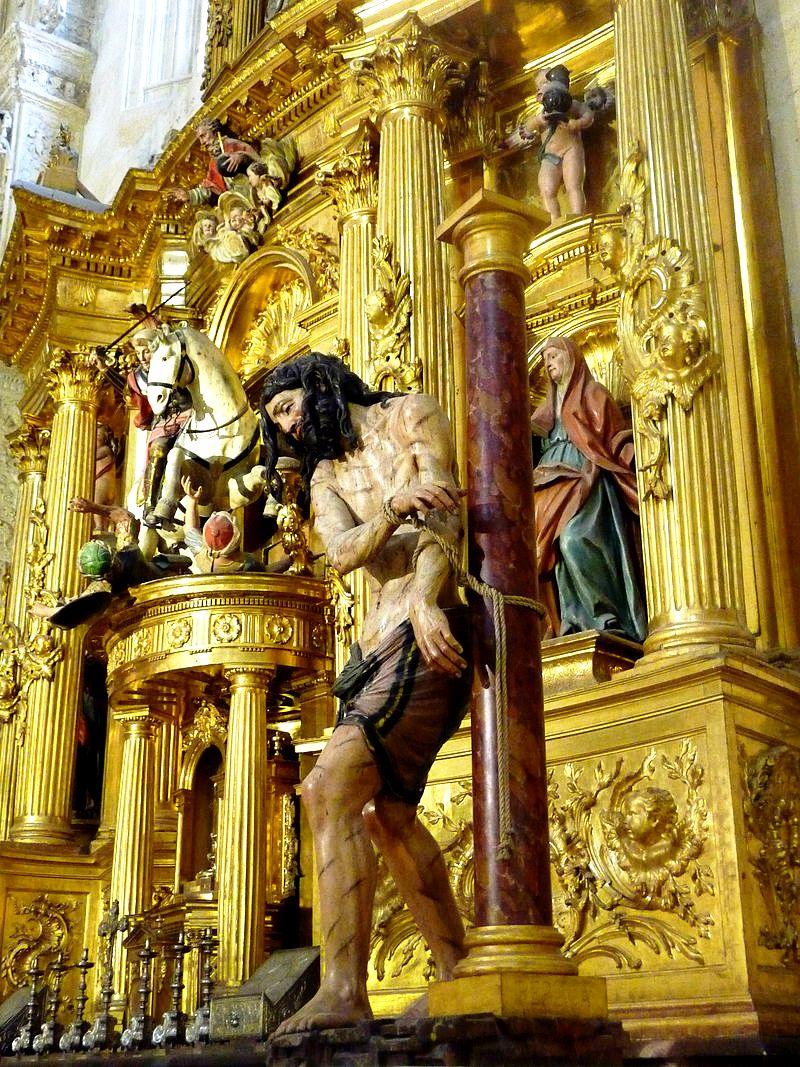 христос у колонны