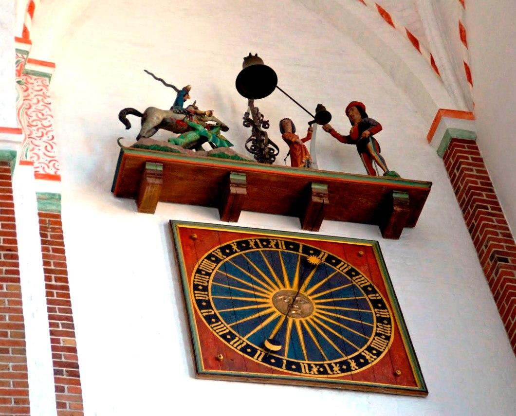 часы роскильского собора