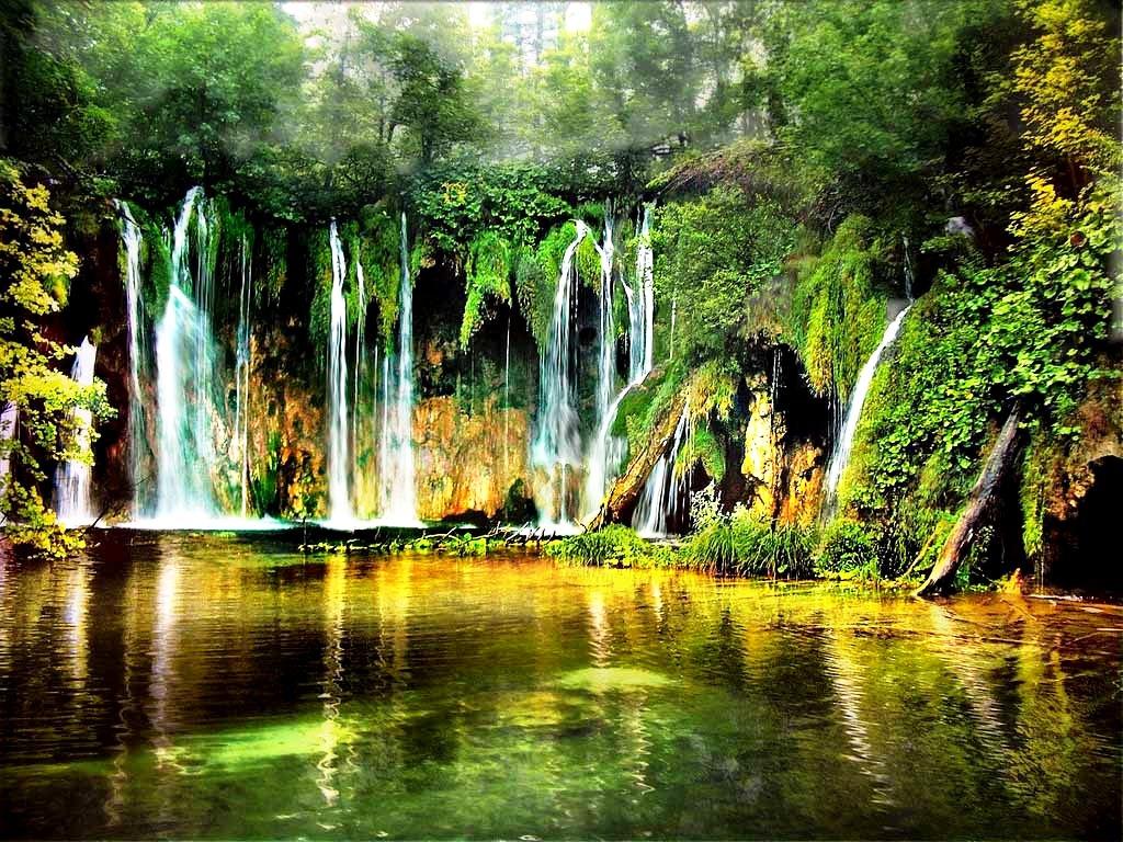 ожерелье водопадов