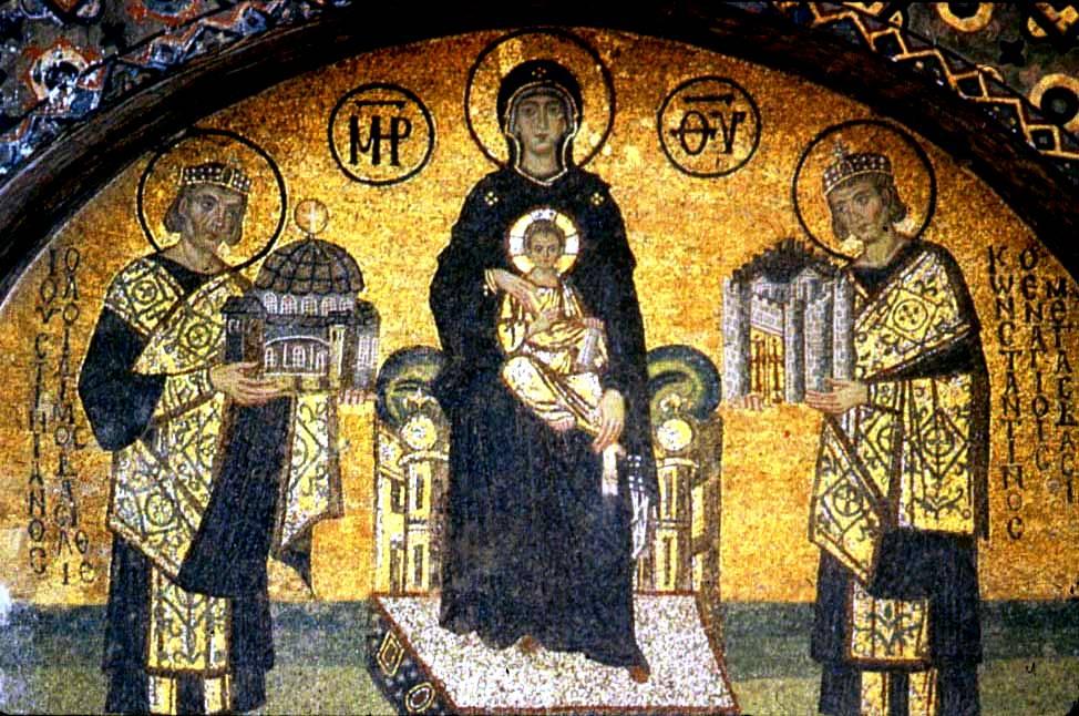 мозаика святой софии