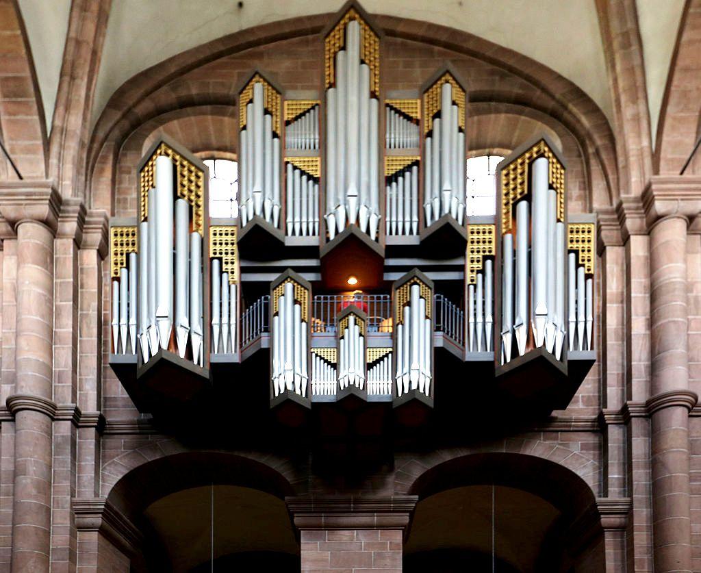 орган вормсского собора