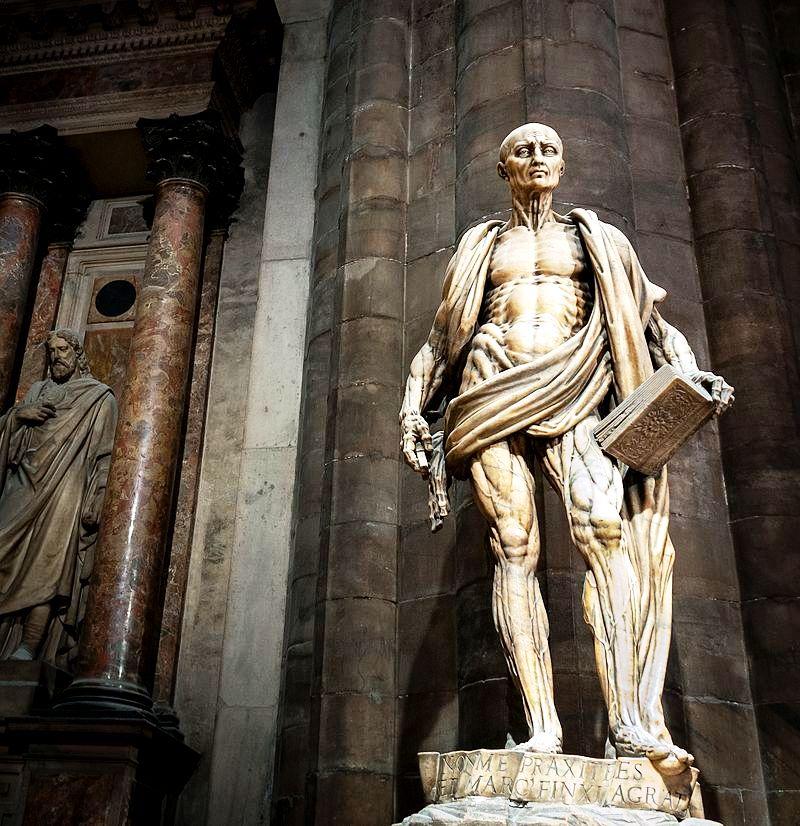 статуя Варфоломея