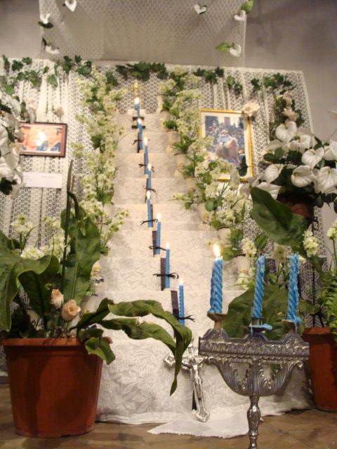 Altar en la Manzana de la Rivera  Tour Paraguay