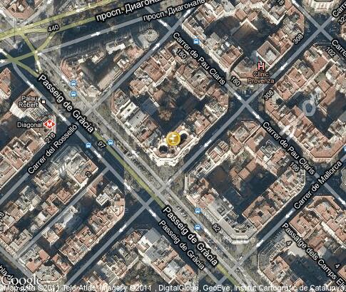 Casa Mila Maps
