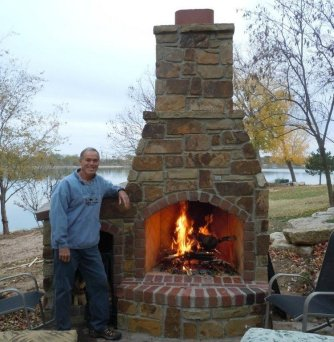 Bob Cook Homes LLC  Outdoor Fireplaces