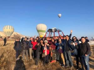 Cappadocia Baloon Landed