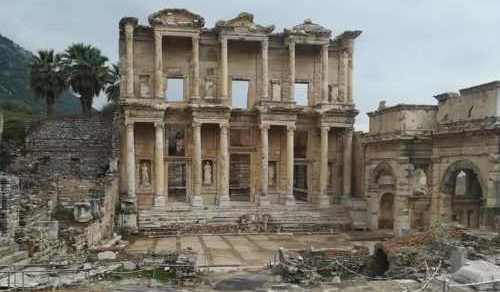 Celsus Library Ephesus Hasan Gulday