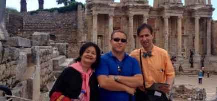 Hasan Gulday tour guide in Ephesus