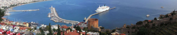 Red Tower and Alanya