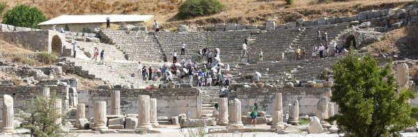 Ephesus Odeon by the Agora