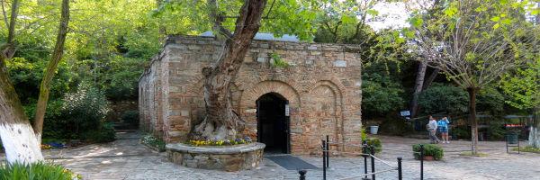 House of Virgin Mary nearby Ephesus