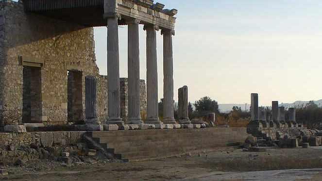 Miletus Great Horbor Monument