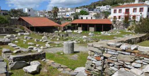 Mausoleum at Halicarnassus Today