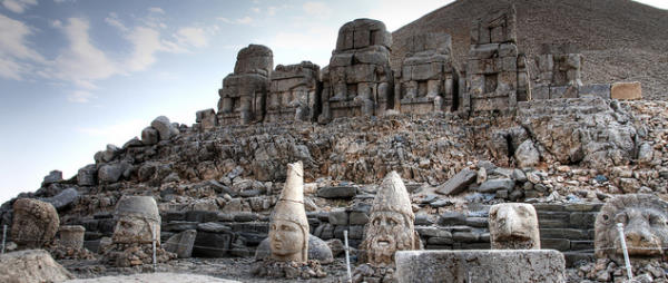 Nemrut Mountain Statues