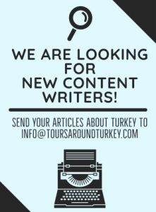 Become a writer on toursaroudturkey.com today!