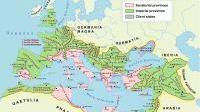 Map of Roman Empire Provinces