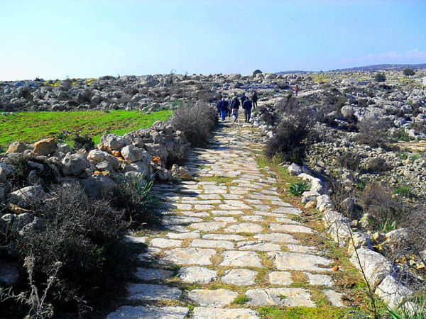 Roman road in Cilicia