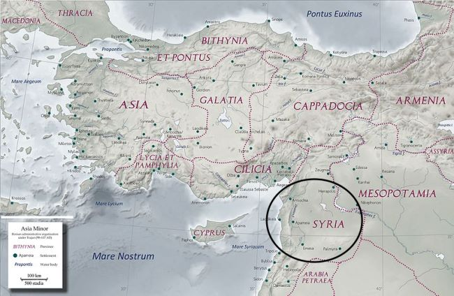 The Roman Province of Syria