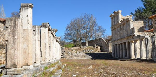 The Sebasteion in Aphrodisias, Caria,