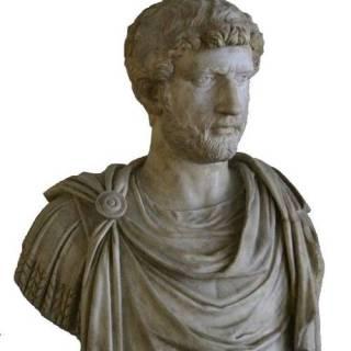 Emperor Hadrian of the Roman Empire