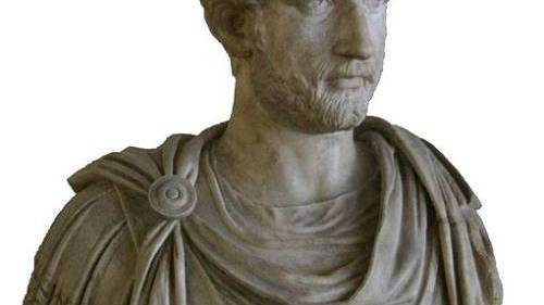 Emperor Hadrian of the Roman Empire