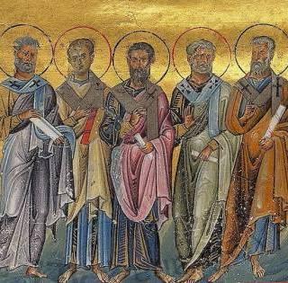 Sosthenes, Apollo, Cephas, Tychicus, Epaphroditus, Cæsar and Onesiphorus