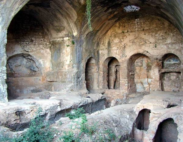 The Cave of Seven Sleepers nearby Ephesus