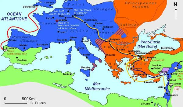 The Plan of the Second Crusade