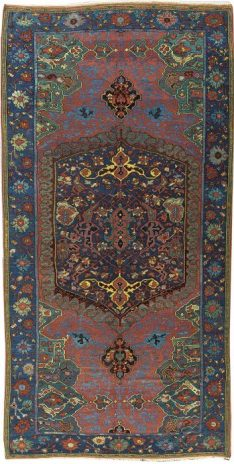 An Ushak carpet with a medallion design