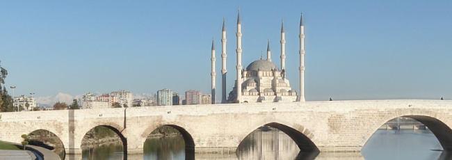 Sabancı Central Mosque and Taşköprü of Adana