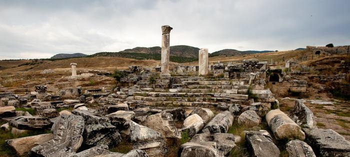 Apollo Temple in Hierapolis