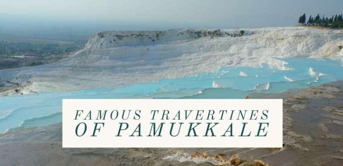Famous Travertines of Pamukkale