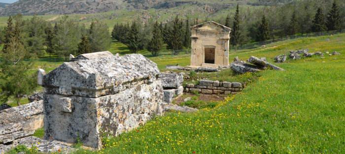 South Necropolis Area of Hierapolis