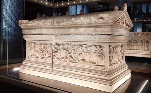 Alexander the Great Sarcophagus in Istanbul