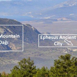 Panayır and Nightingale Mountains Nearby Ephesus