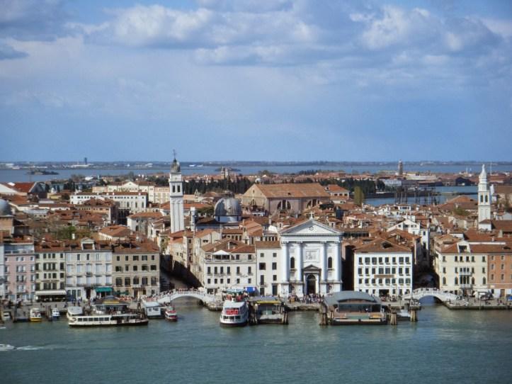 Venise visiter San Giorgio Maggiore vue campanile