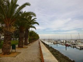 que visiter à Olhão, port jetée