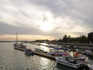 que visiter à Olhão, port lagune