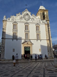 que visiter à Olhão, port église