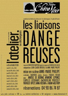 Les Liaisons dangereuses Choderlos de Laclos / Hampton #off15