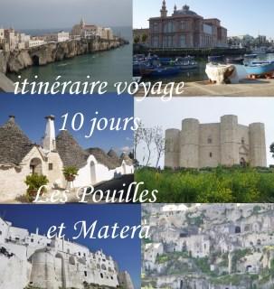 itineraire voyage pouilles roadtrip italie matera gargano bari