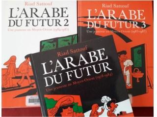 série BD arabe futur