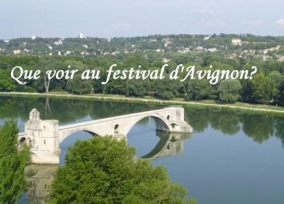 Pré-sélection de spectacles à voir au festival d'Avignon off 2021