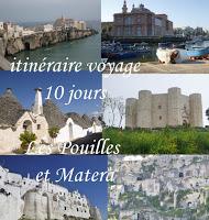 conseil voyage Pouilles et Matera