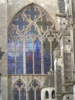 vitraux  cloître de la Psalette visite Renaissance