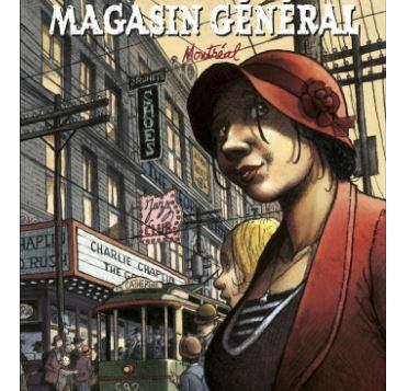Avis lecture BD magasin général quebec Régis Loisel et Jean-Louis Tripp, Casterman tome 5 Montréal bande dessinée blog litteraire