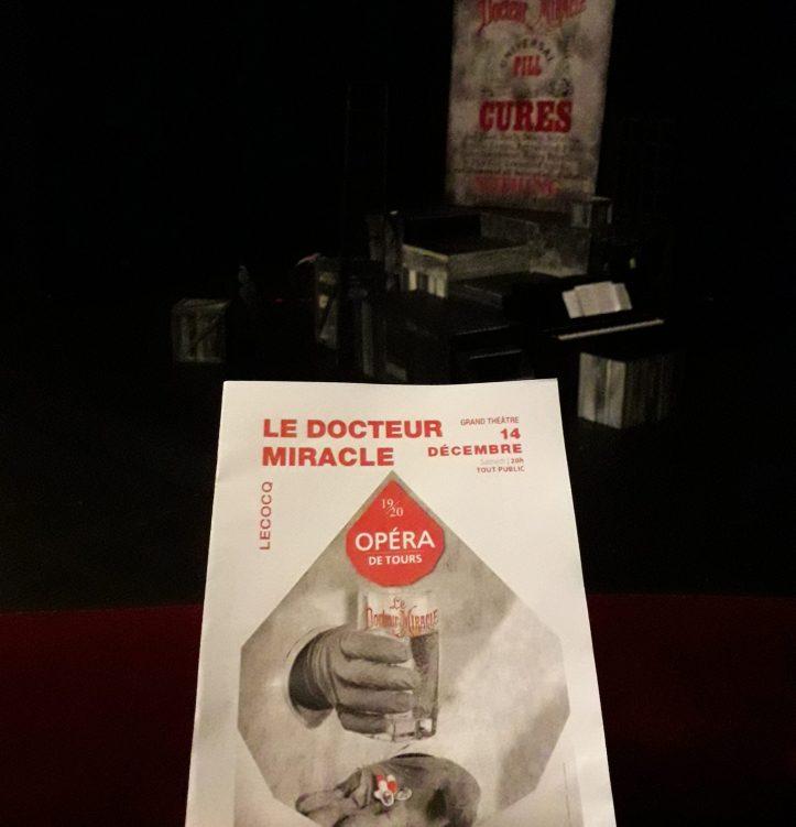 Le Docteur Miracle de Charles Lecocq Pierre Lebon opera de Tours palazzetto bru zane